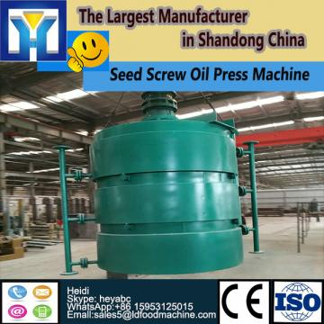 Continuous system crude chia seed oil refining plant with PLC control
