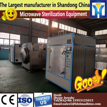 Microwave crushed chili drying sterilizer machine