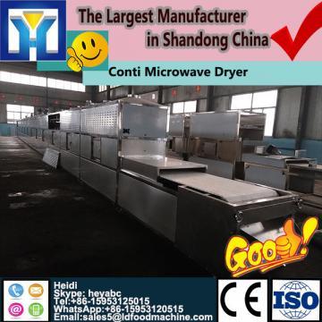 New design conveyor type peanut kernel microwave dryer/peanut roaster /nuts baking machine