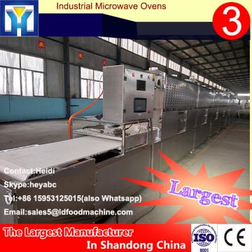 Continuous microwave for drying egg tray