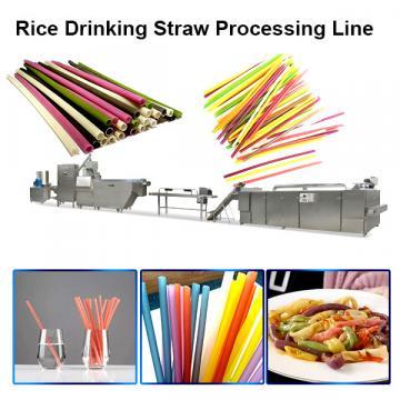 Pasta straw process line /Eco-friendly Rice Flour Drinking Straw making machine