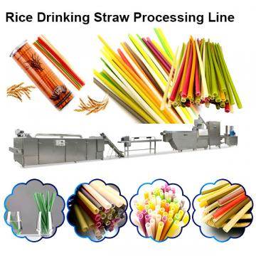 Edible Rice / Pasta / Wheat Disposable Drinking Straw processing line / making machine