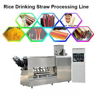 Disposable rice make wheat Straw Biodegradable new material edible straws equipment