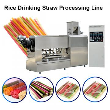 Pasta rice straw making machine degradable drinking tube straw machine price
