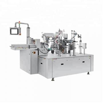 Ce Approved High Efficiency Quantitative Bag Crispy Rice Vffs Packaging Machine