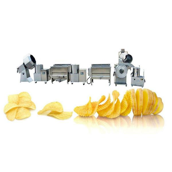 Small Scale Automatic French Fries Potato Chips Making Machine Price #2 image