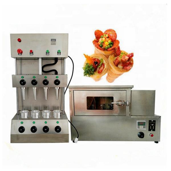 Automatic Vacuum Molding PS Foam Disposable Pizza Box Take Away Food Container Production Line #3 image